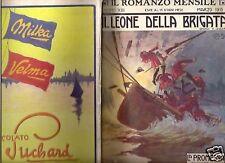 ROMANZO MENSILE-MARZO 1915-GEORGE BISSOP-ORIGINALE!-SM55