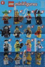 LEGO® Figuren Serie 2  - 8684 - Auswahl - NEU/OVP oder ZIP Tüte