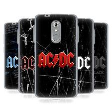 Logotipo oficial de AC/DC ACDC caso De Gel Suave Para Teléfonos ZTE