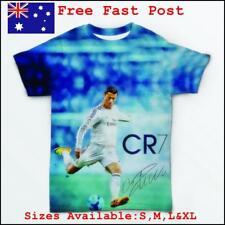 Digital Printed Man Tees C.Ronaldo  T-Shirt Short Sleeves sizes S,M,L,XL.