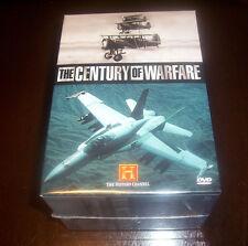 THE CENTURY OF WARFARE HISTORY CHANNEL WWII WWI Korean War Vietnam DVD SET NEW