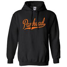 Panhead Script & Tail HOODIE - Hooded Motorcycle Chopper Sweatshirt - All Colors