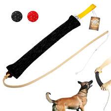 Jute Combine Dog Bite Tug & Training Agitation Whip for Schutzhund Police Dog K9