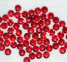 14400 x 2 mm RED  SIAM  HOTFIX  IRON ON  RHINESTUDS (100 gross) wholesale beads