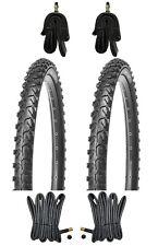 2x 24 Zoll MTB Reifen 24x1.95 KUJO inkl. Schläuche mit AV DV Mountainbike Reifen