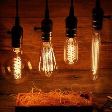 6 pcs E26 Screw Edison Bulb Filament Lights Antique Industrial Lamp 110V 40W 60W