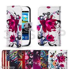 Funda de piel sintética para Samsung Galaxy S3 (I9300) & S3 Mini (I8190)