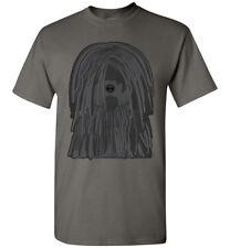 Puli Dog Cartoon T-Shirt Tee - Men Women Ladies Youth Kids Tank Long Sleeve