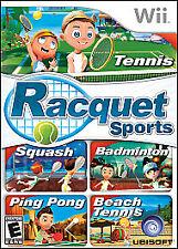 Racquet Sports (Nintendo Wii, 2010)