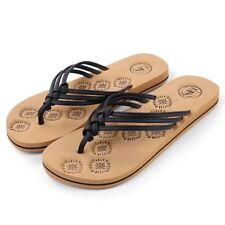Fashion Women Anti-Slip Summer Slippers Flip Flops Flat Sandals Beach Shoe Black