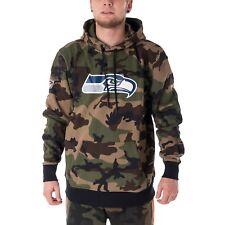 New Era Woodland Seattle Seahawks Hoodie Herren Kapuzepullover camo 33418