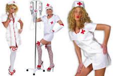 Sexy Schwester Krankenschwester Karneval Fasching Kostüm 36-46