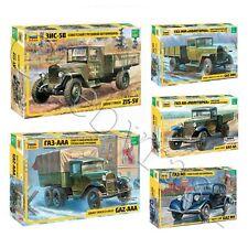 "Model Kits ""Soviet military vehicles 1941-45 WWII"" toy figures 1:35 Zvezda"