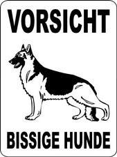 "D013 German Shepherd Decal (German): 7""x7"", 9""x9"", or 10""x10"""