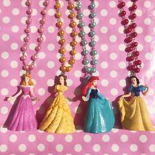 Disney Princess necklace Beauty Beast Sleeping Beauty Little Mermaid Snow White