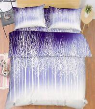 3D Äste Weiß 867 Bett Kissenbezüge steppen Duvet Decken Set Single DE Kyra