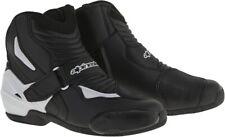 Alpinestars SMX-1R Motorcycle Boots Men's Black/White Choose Size