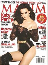 Maxim Magazine January 2011 Katy Perry Whitney Port Bianca Kajlich Analeigh Tipt