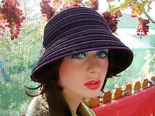 Damen Hut Glockenhut elegant Wollhüte Anlasshüte Damenmützen Herbst Winter