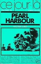 Livre ce jour là pearl Harbour Walter Lord book