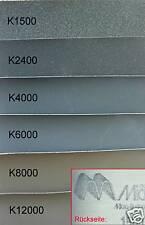 Schleifpapier Metall Eisen Holz  Micro Mesh 1500-12000