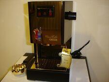 Gaggia macchina del caffè, placcata oro 24 k, pezzo da collezionisti