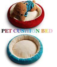 Cat Pet Sleep Soft Cushion Bed Medium Extra Large Dog Puppy Blue Purple Round