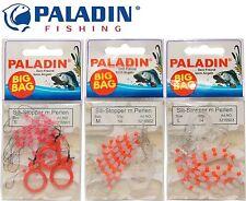 Silikon Stopper Perlen Schnurstopper 3 Größen und als Set möglich FishMaster