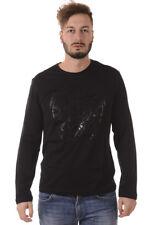 Versace Jeans T Shirt Sweatshirt Cotton Man Black B3GQA794 Y5F