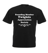 TWIGLETS APPRECIATION SOCIETY T-SHIRT Christmas Birthday Idea Present Crisps