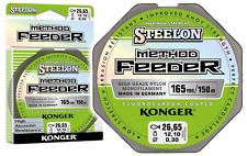 línea de pesca Konger steelon Método Alimentador Fluorocarbono Revestido