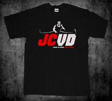 New Bloodsport Jean Claude Van Damme JCVD Split T-shirt