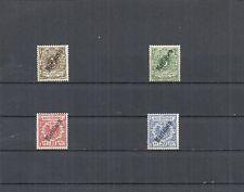 Marianen, Deutsche Kolonien 1901, Einzelmarken MiNrn: 1 - 21 */**, ungebraucht