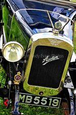 Austin classic vintage motor car front view photograph picture poster art print
