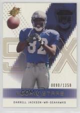 2000 SPx #97 Darrell Jackson Seattle Seahawks Rookie Football Card