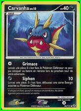 "Carte Pokemon "" CARVANHA "" Niv 13 Rivaux Emergeants PV 40 58/111 HOLO VF"
