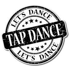 Tap Dance Vinyl Sticker - SELECT SIZE
