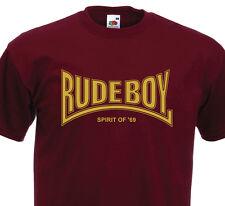 T-Shirt RUDE BOY (Graphisme Lonsdale) Spirit Of '69 - Ska Punk Rock Clash Skin