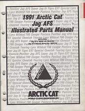 1991 ARCTIC CAT SNOWMOBILE JAG AFS PARTS  MANUAL P/N 2254-650