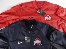 Ohio State Buckeyes OSU Nike Sideline Lockdown Performance 1/2 Zip Jacket NWT 80