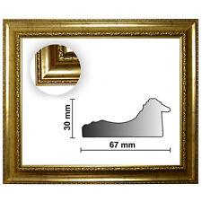 Barockrahmen gold fein verziert 839 ORO, verschiedene Varianten