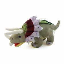 "Super Soft Plush Triceratops Dinosaur Stuffed Animal Kids Toy Cuddly Gift 15/19"""