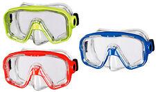 BECO Kinder Tauchermaske Taucherbrille Bahia 12+ gelb / rot / blau