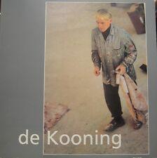 de Kooning peinture dessin pastel sculpture expo 1984