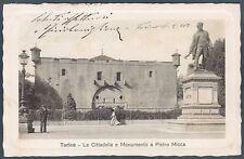 TORINO CITTÀ 191 MONUMENTO a PIETRO MICCA Cartolina
