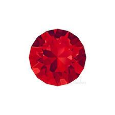 Swarovski 1088 XIRIUS chaton pointed back crystal rhinestone red LIGHT SIAM 227