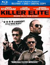 Killer Elite (Blu-ray/DVD, 2012, 2-Disc Set, Includes Digital Copy UltraViolet)