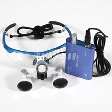 Dental Surgical Medical 3.5x420mm occhialini Glasses/LED Head Light Lamp lampada