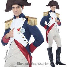 CA43 Napoleon Emperor French Hero Men Military Political Admiral Soldier Costume