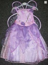 Fasching Kostüm Schmetterling Fee Prinzessin Kleid flieder 98-110  3-5 Jahre NEU